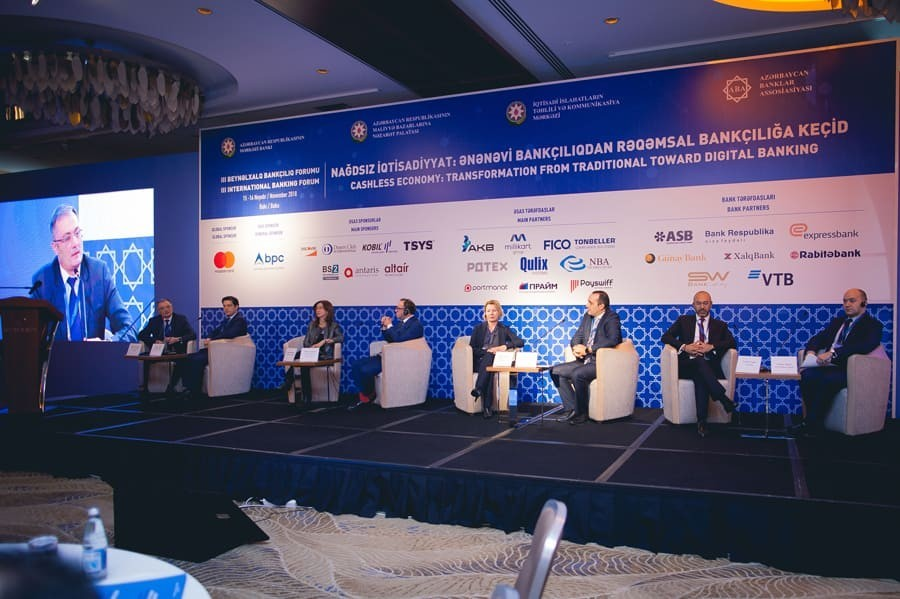 3 Beynəlxalq Bankçılıq Forumunun spikerləri