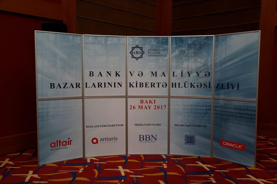 Bank və Maliyyə Bazarlarının kibertəhlükəsizliyi konfransı
